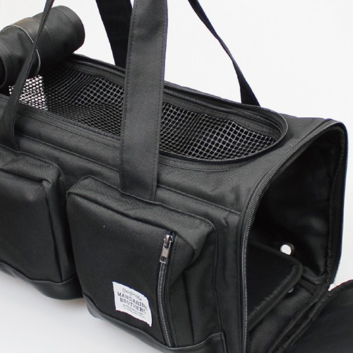 BIG POCKET CARRY BAG BLACK