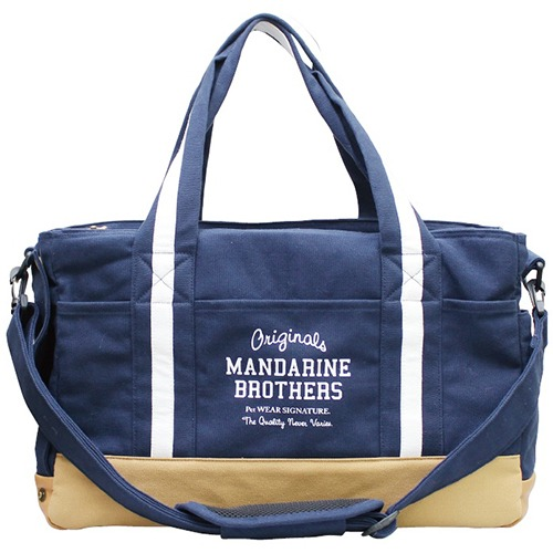BASIC CARRY TOTE BAG NAVY